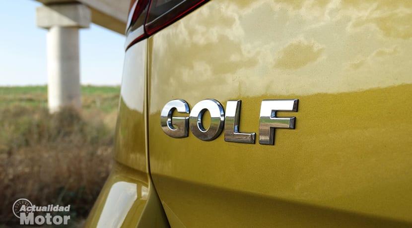 Inscripción Volkswagen Golf