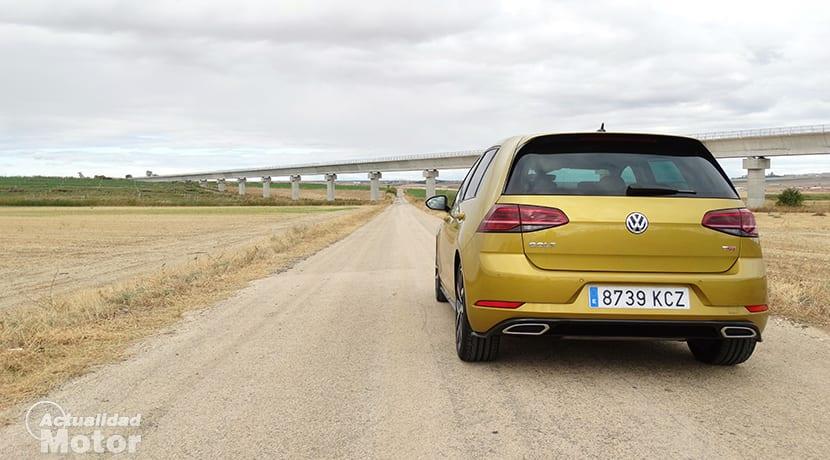 Prueba Volkswagen Golf TSI 150 trasera