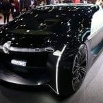 Frontal del Renault EZ-Ultimo Concept en el Salón de París 2018