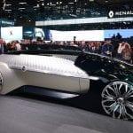 Lateral del Renault EZ-Ultimo Concept en el Salón de París 2018