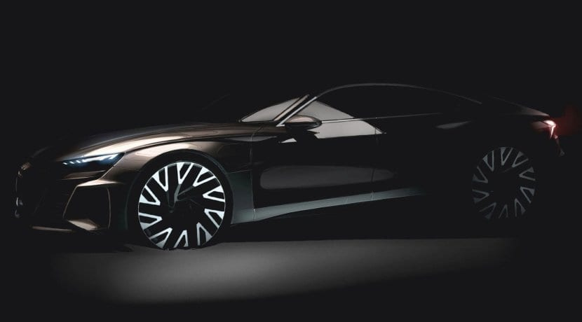 Audi e-tron GT Concept teaser