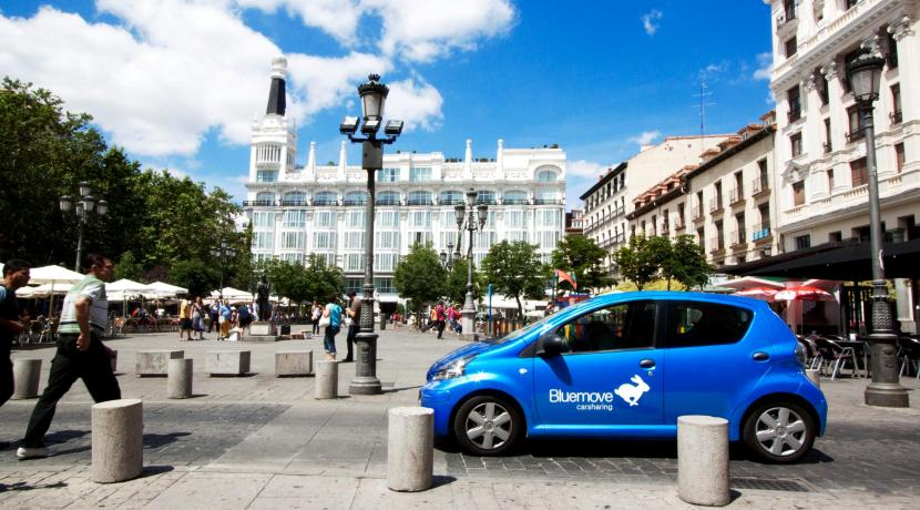 Car Sharing - Coche compartido - Bluemove