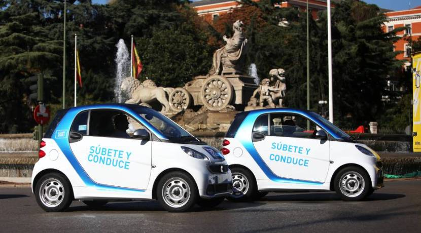 Car Sharing - Coche compartido - Car2Go