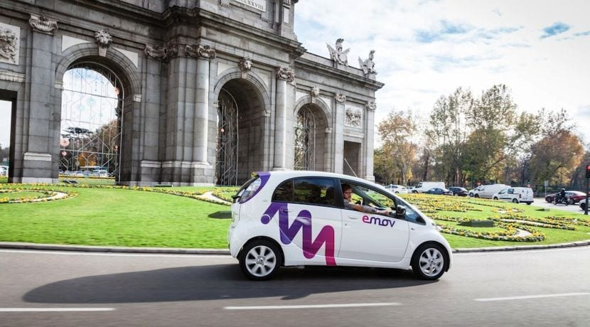 Car Sharing - Coche compartido - Emov