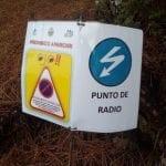 Puntos de radio Rally