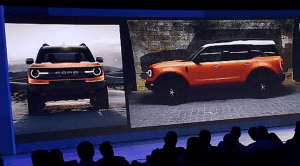 Ford Bronco 2020 teaser