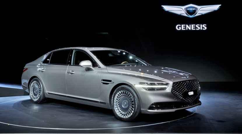 Genesis G90 restyling