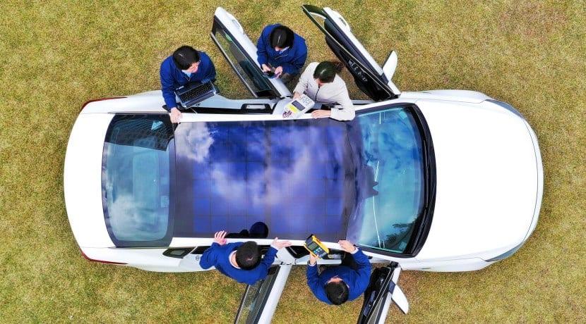 Hyundai y Kia tecnología recarga solar