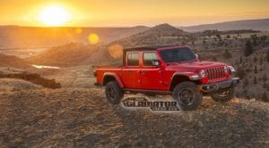Jeep Gladiator JT pick up