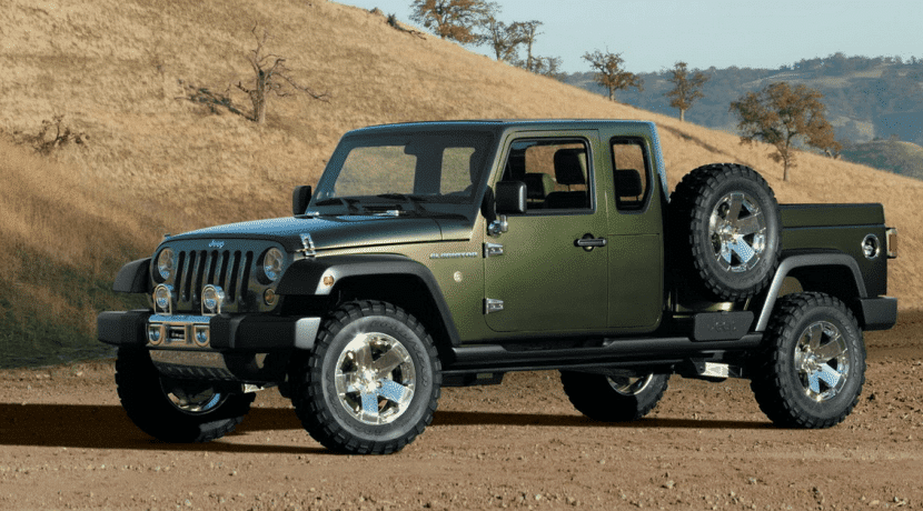 Jeep Gradiator pick up concept