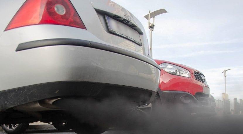 Gases producidos en la combustión de los motores