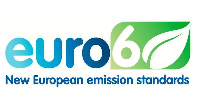 Logo de euro 6 para motores diesel