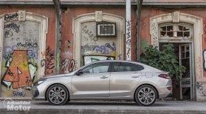 Prueba Hyundai i30 Fastback Lateral