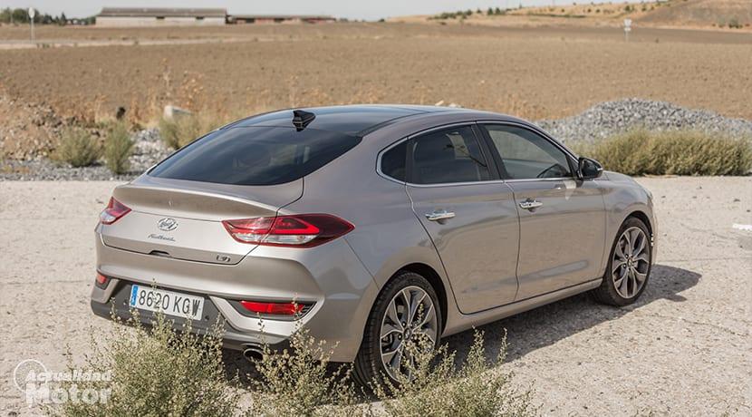 Prueba Hyundai i30 Fastback Trasera