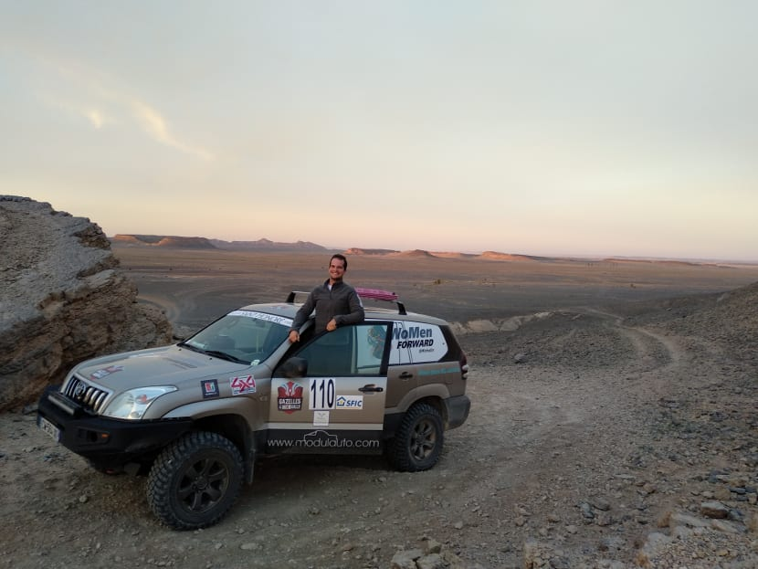 Rally gazelles and Men 2018 starting day