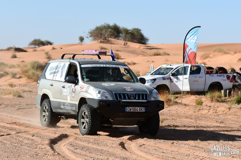 Rally gazelles & men 2018 checkpoint