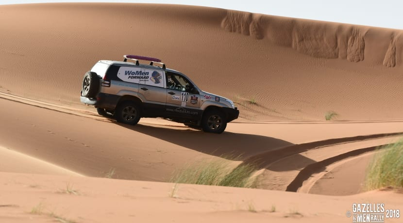 Rally gazelles & men 2018 in sand