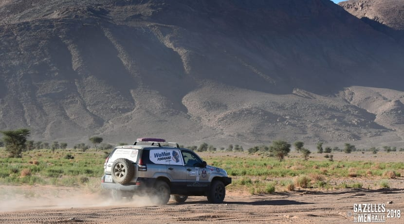 Rally gazelles & men 2018 women forward travelling
