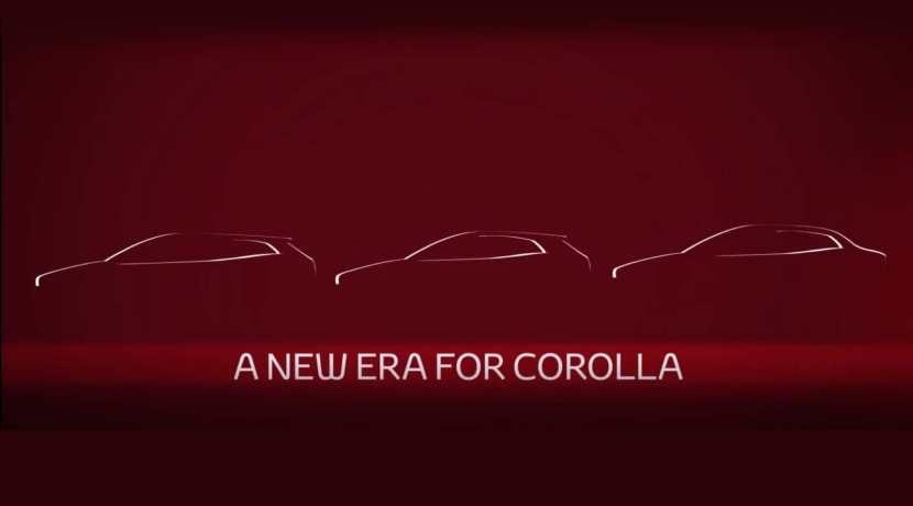 Toyota Corolla Sedan 2019 teaser