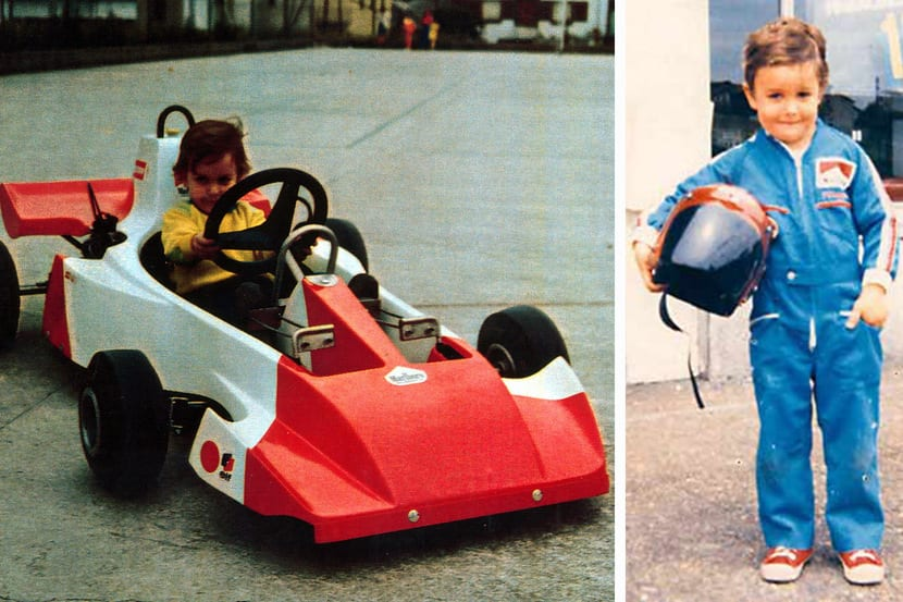 Alonso con 3 años