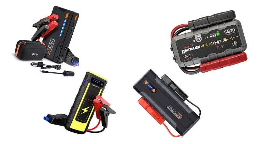 Arrancadores para la batería del coche
