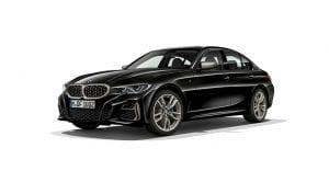 BMW M340i xDrive perfil delantero
