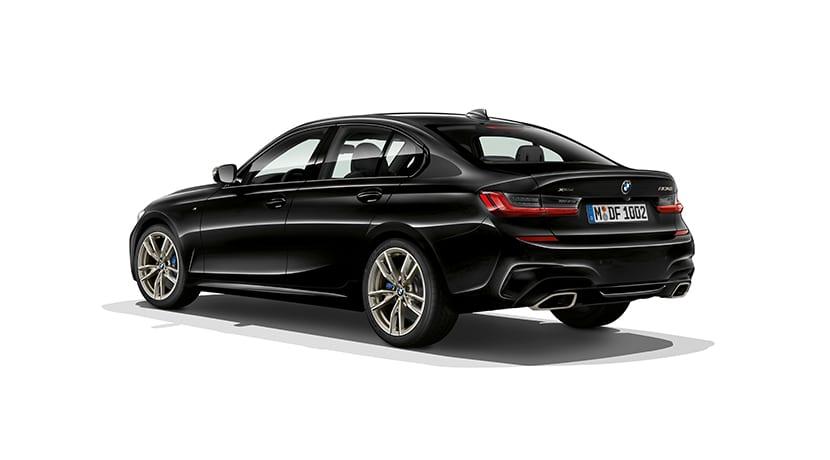 BMW M340i xDrive perfil trasero