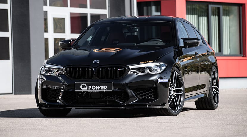 BMW M5 preparado por G-Power a 800 CV