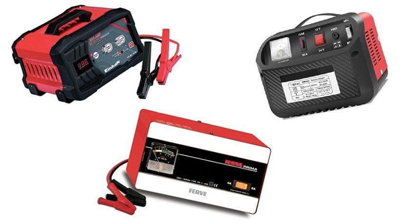 Cargadores para cargar la batería del coche