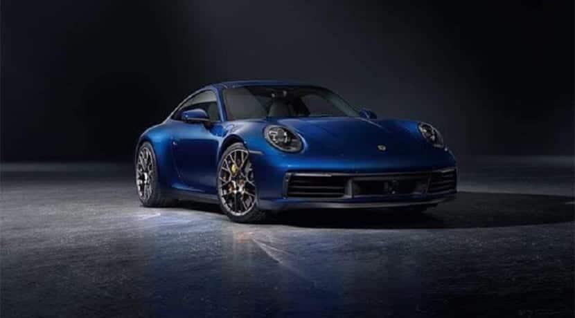 Porsche 911 992 filtrado delantera