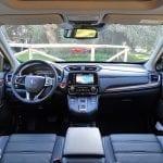 Prueba Honda CR-V Hybrid diseño interior