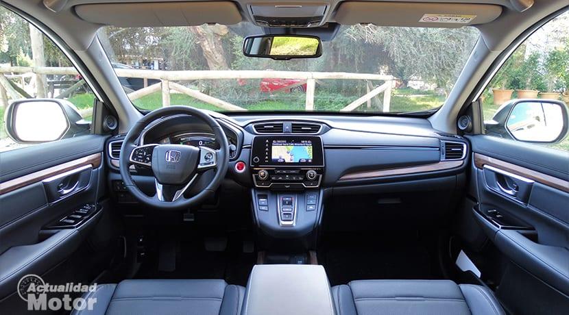 Prueba Honda CR-V híbrido diseño interior