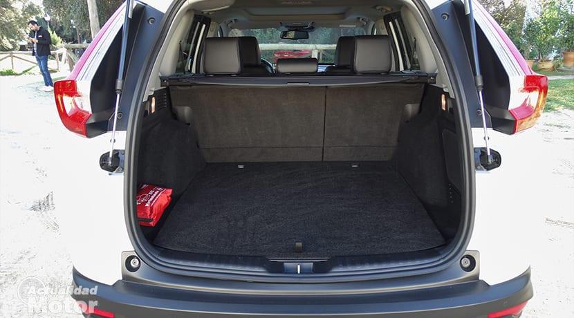 Maletero del Honda CR-V Hybrid