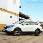 Honda CR-V Hybrid lateral