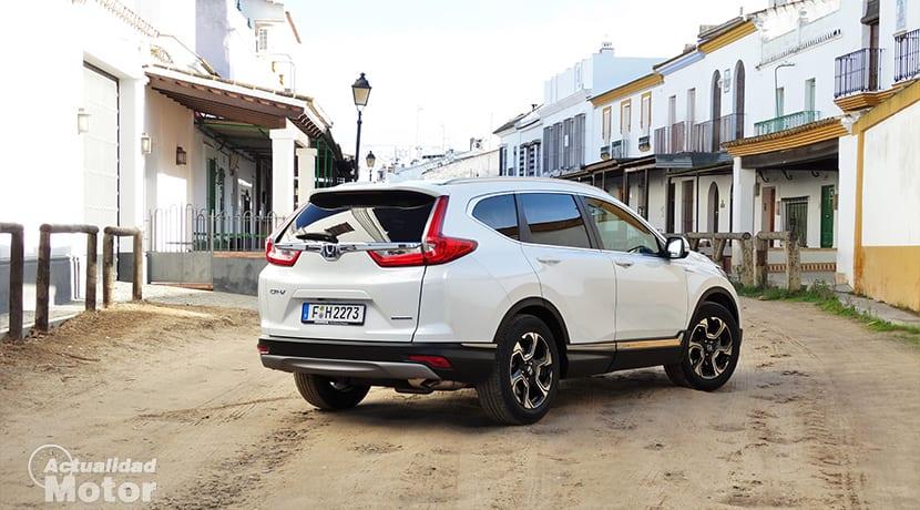 Honda CR-V Hybrid parte trasera