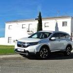 Prueba Honda CR-V Hybrid perfil delantero
