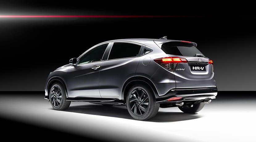Honda HR-V Sport trasera