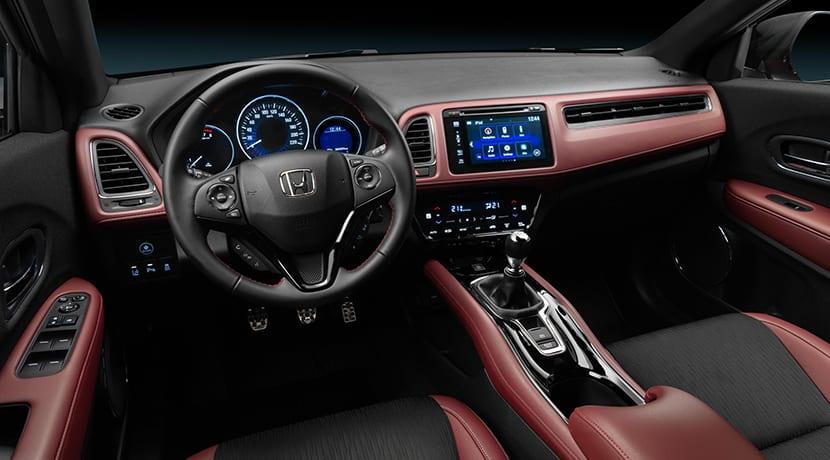 Honda HR-V Sport diseño interior