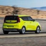 Kia Soul EV dinámica trasera