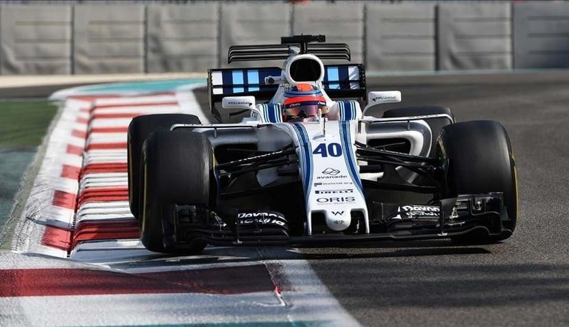 Robert Kubica en el Williams