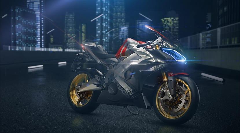 Kymco SuperNEX moto superdeportiva eléctrica