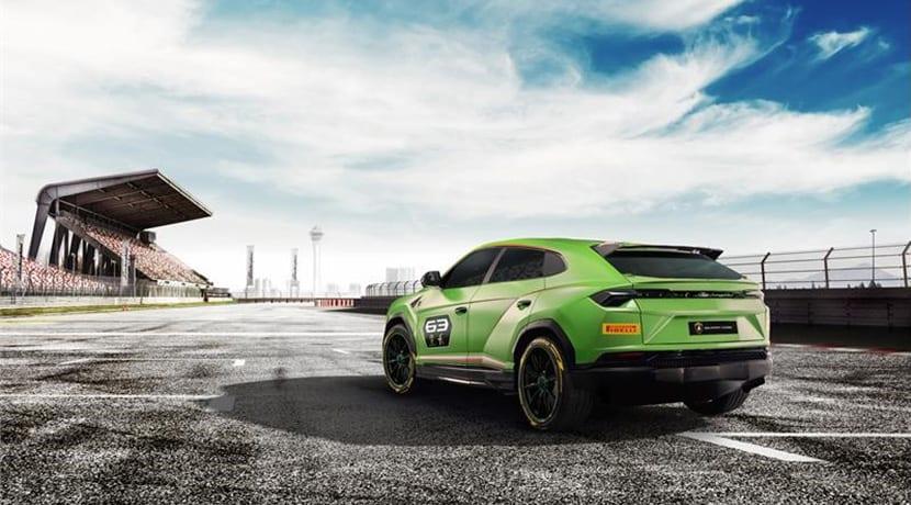 Lamborghini Urus ST-X Concept trasera