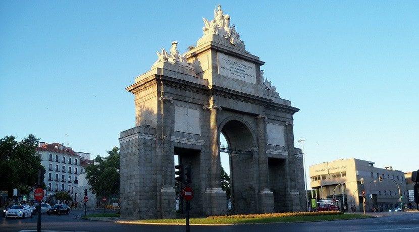 Madrid Central desde Puerta de Toledo
