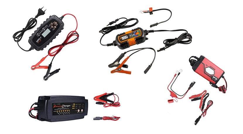 Mantenedores o cargadores inteligentes para la batería del coche
