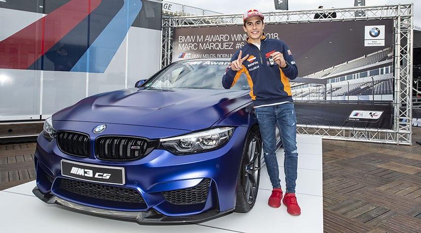 Marc Márquez logra su sexto BMW M Award