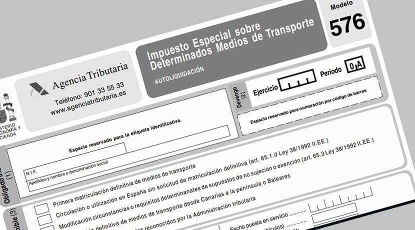 Matricular un coche extranjero en España - Impuesto de matriculación