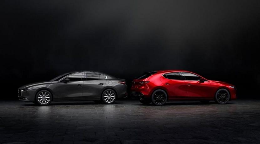 Mazda 3 de cuarta generación 5 puertas y SportSedan