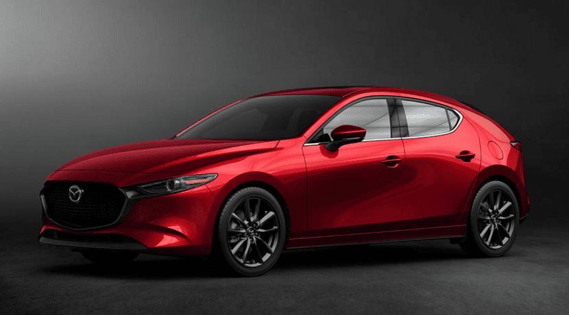 Frontal del Mazda 3 Cuarta Generación