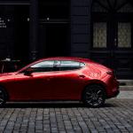 Lateral del Mazda 3 Cuarta Generación