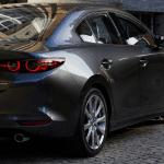 Trasera del Mazda 3 Cuarta Generación